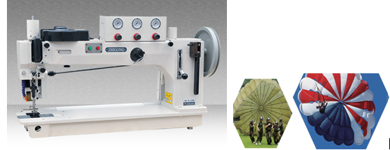 ... amount of bobbin thread with high sewing efficiencyapplicable for thick materials such as tentsailsleatherseat cushionsofaluggage and edge seam.  sc 1 st  HeBei Zhigong Sewing Equipment CO.LTD & GG366-76-12HM A long arm thick zigzag sewing machine-Heavy duty ...
